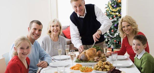 Segundos platos para niños en Navidad
