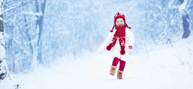 Viajes con niños en Navidad.