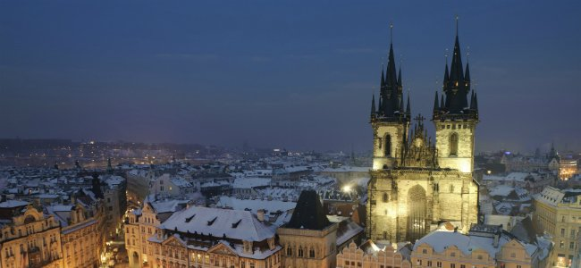 Viajar a Praga en Navidad.