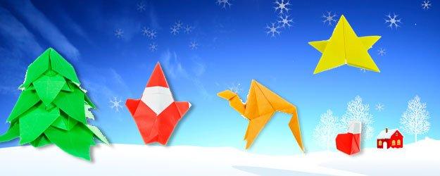 Vídeos para aprender a hacer origami de Navidad