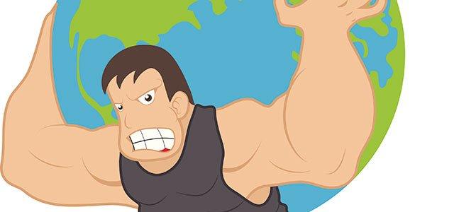 Atlas sujeta el mundo