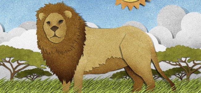 Cuento infantil: El león perdido