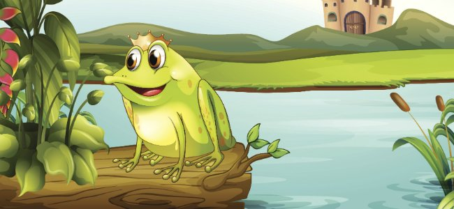 Cuentos en inglés. The Frog Prince