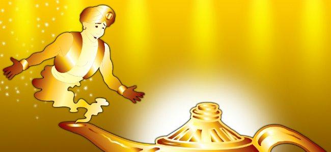 Aladino. Cuentos tradicionales para niños.