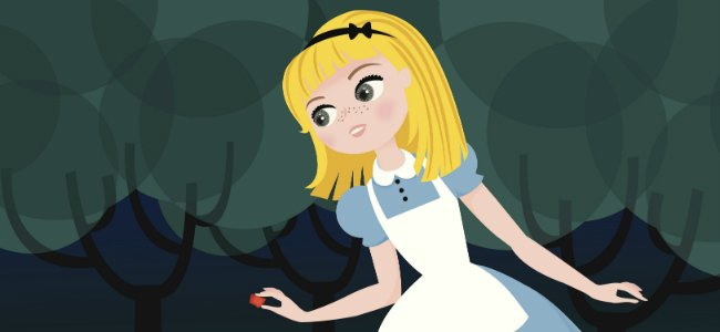 Cuentos en inglés. Alice in Wonderland.