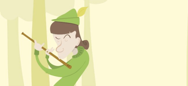 Cuentos en inglés. The Pied Piper of Hamelin.