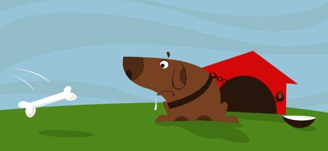 Fábula infantil: El herrero y su perro.