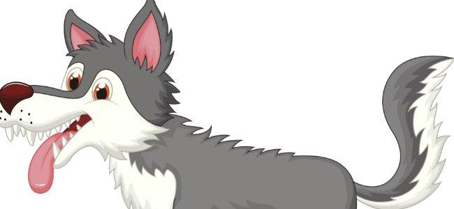 Fábula de La Fontaine: El lobo y el perro