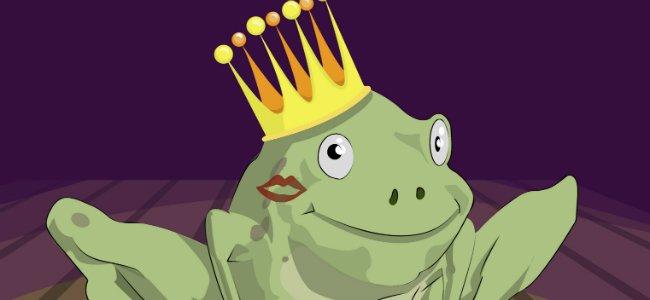 Fabula de Esopo: Las ranas pidiendo rey.