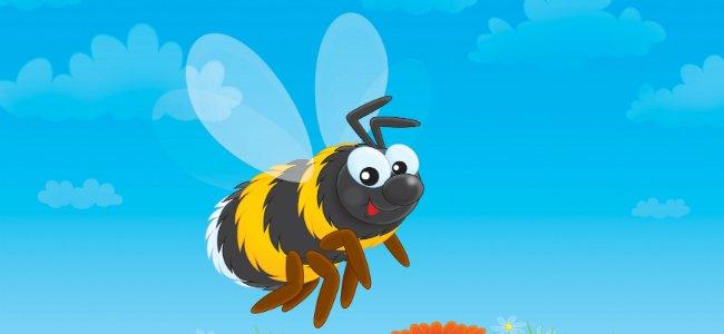 Fábula para niños. Los zánganos y las abejas.