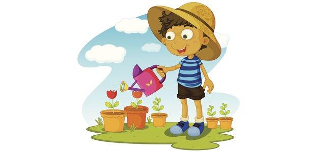 El jardinero y su amo. Fábulas para niños.