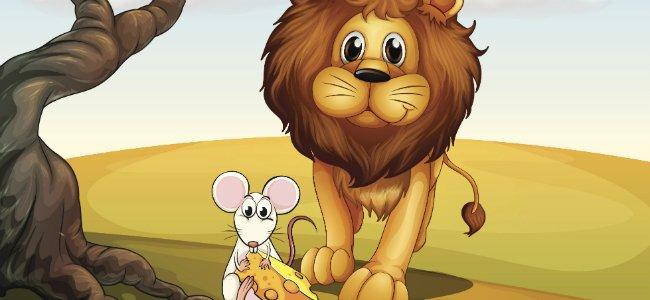 Fabula del León y el ratón