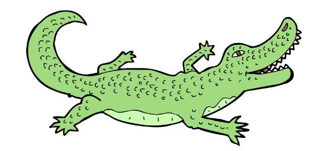El perro y el cocodrilo Fbulas de Samaniego