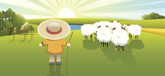 Fábula de Samaniego: El zagal y las ovejas