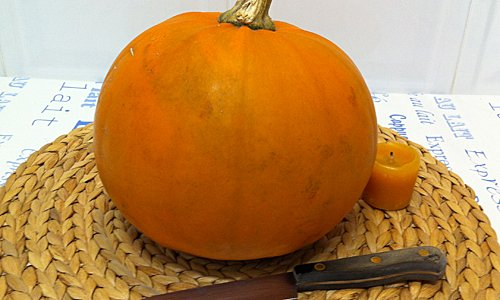 Manualidades para ni os calabaza de halloween - Decorar calabaza halloween ninos ...