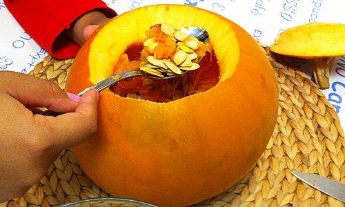 Manualidades para ni os calabaza de halloween - Calabazas de halloween manualidades ...