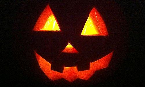 Manualidades para ni os calabaza de halloween - Calabazas de halloween de miedo ...