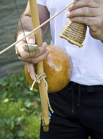 Berimbau: instrumento utilizado en la capoeira