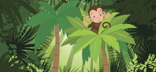 El mono Micolás. Fábula para niños