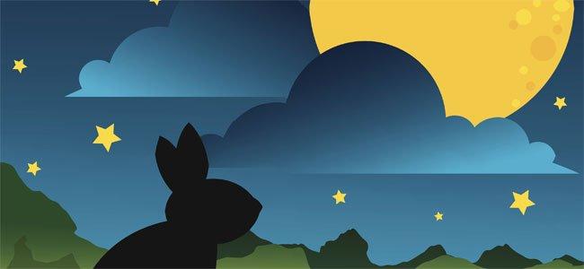 conejo de la luna