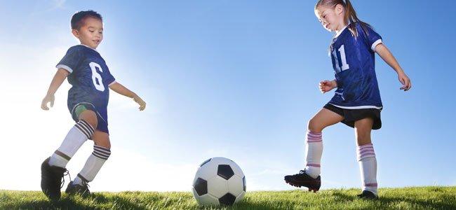 Inicio del niño al deporte