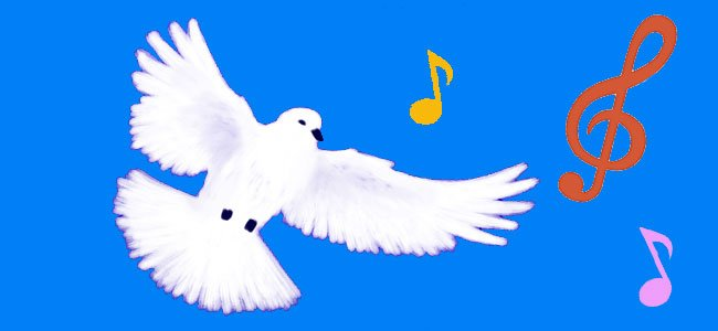 Canción infantil: la paloma blanca