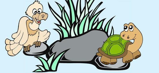 Fábula para niños: el águila y la tortuga