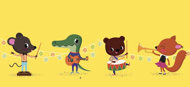 La orquesta de animales