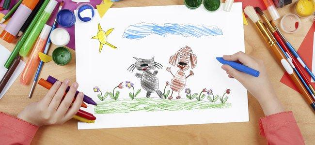 Vídeos para enseñar como dibujar animales a los niños