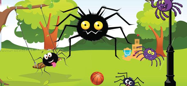 La araña Ochopatas. Fábula con moraleja para niños