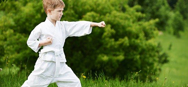 Artes marciales en la infancia