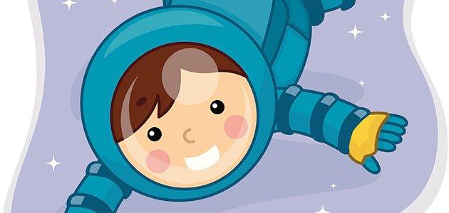 Niño Astronauta En El Espacio: El Astronauta. Cuentos Para Niños Sobre La Enuresis