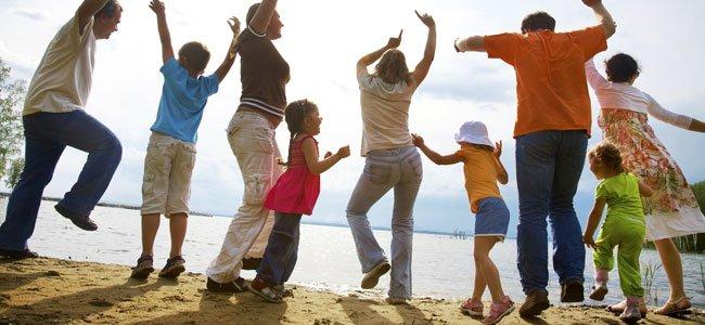 Cómo y donde bailar con los niños