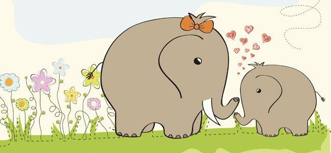Bebé elefante, cuentos para bebés