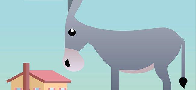 Fábula infantil: Las mulas y los ladrones