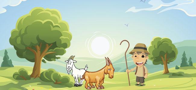 Las cabras testarudas