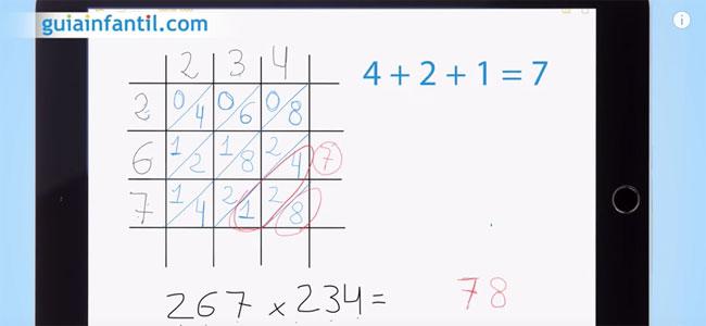 Caja para multiplicar números grandes