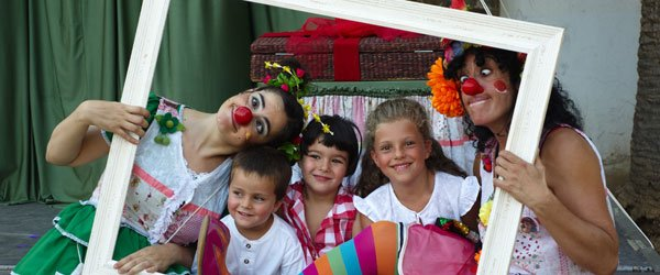 Calonge-Sant Antoni con los niños