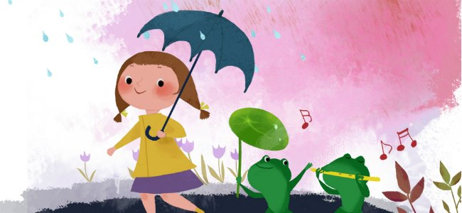 Canción para niños Que llueva