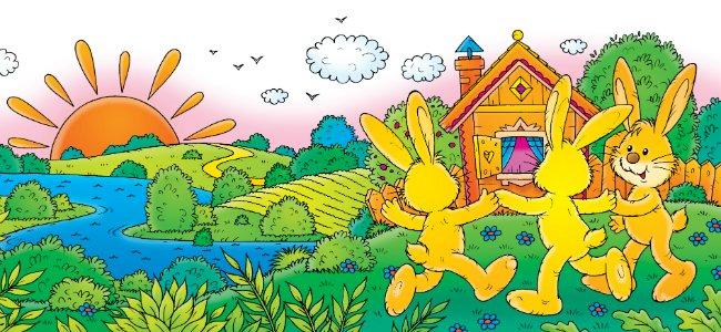 Hokey Pokey. Canciones en inglés para niños.