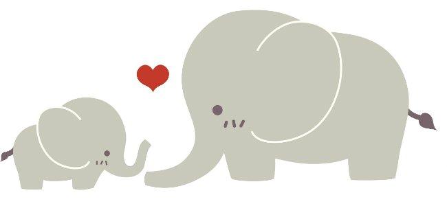 The elephant. Canción infantil en inglés