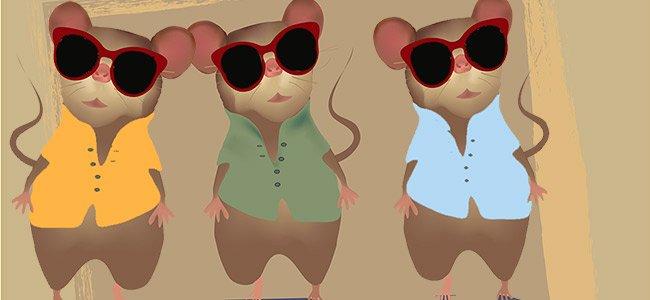 3 ratones ciegos