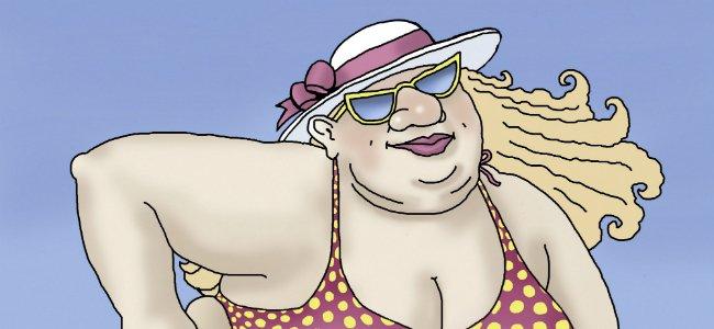 Una señora gorda. Canciones infantiles