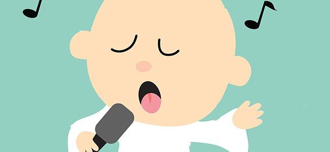 Canciones en inglés para que el bebé aprenda el idioma