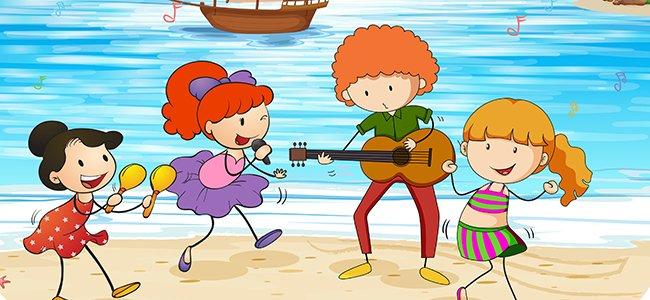 Canción del verano para niños