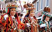 Calendario del Carnaval para niños