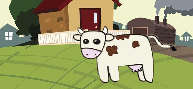 Cmo hacer un dibujo de una vaca paso a paso