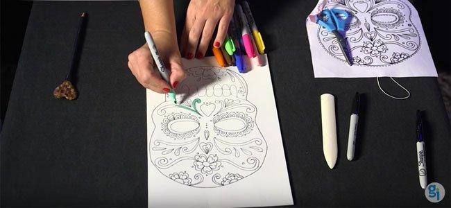 Máscara de Catrina
