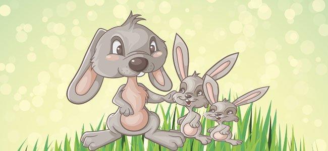 Cuento infantil protagonizado por conejitos