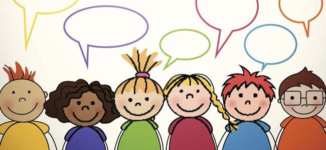 Dibujos Animados De Niños Felices Y Payaso En El Parque: Chistes De Colmos Para Niños